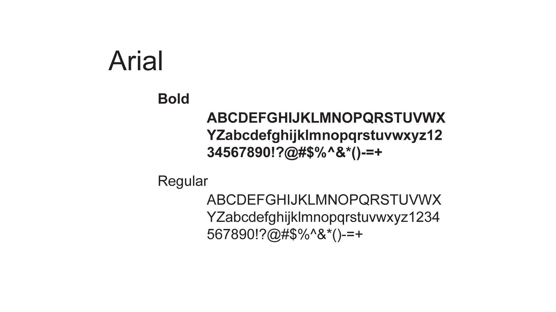 Font B
