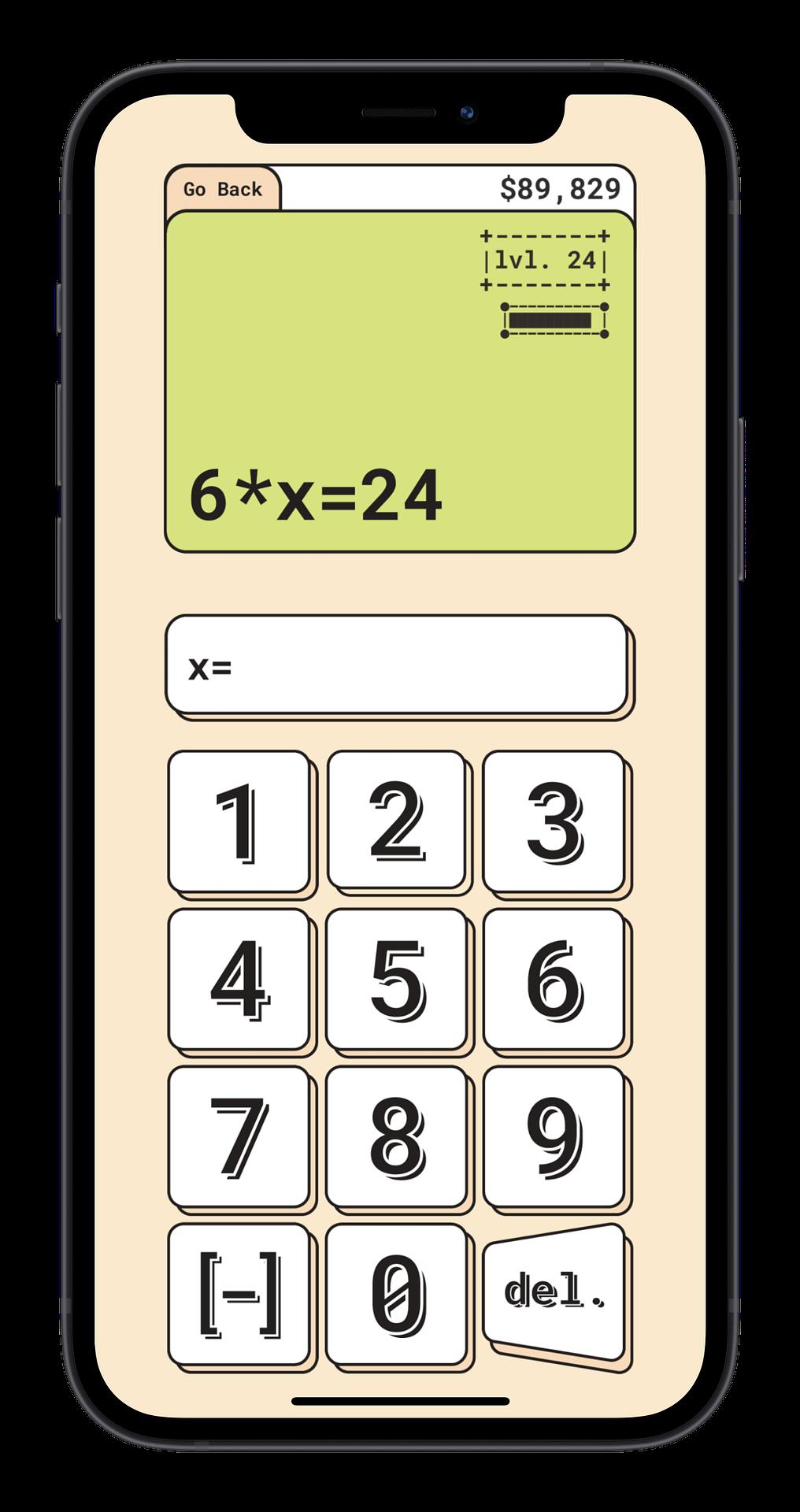 Algebra Screenshot