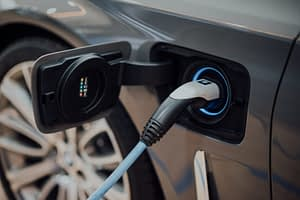 Electric vehicle currently charging. Photo by CHUTTERSNAP on Unsplash