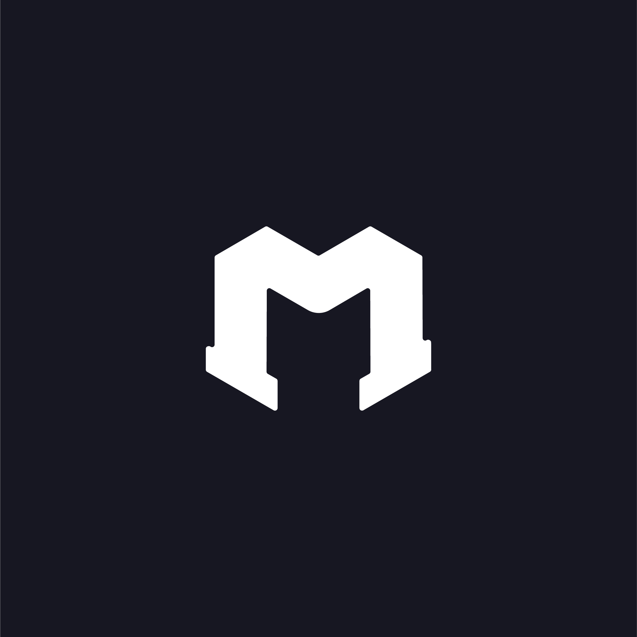 Emil Magnusson is a full-stack developer who mainly works behind the scenes on projects. With this in mind a vague connection to the github logo is included to connect to the full stack developer side. The M has a confident but sutble appeal to like a knight which reflects his workflow.