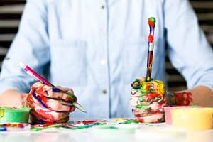 Painting without restrictions. Photo by Alice Dietrich on Unsplash
