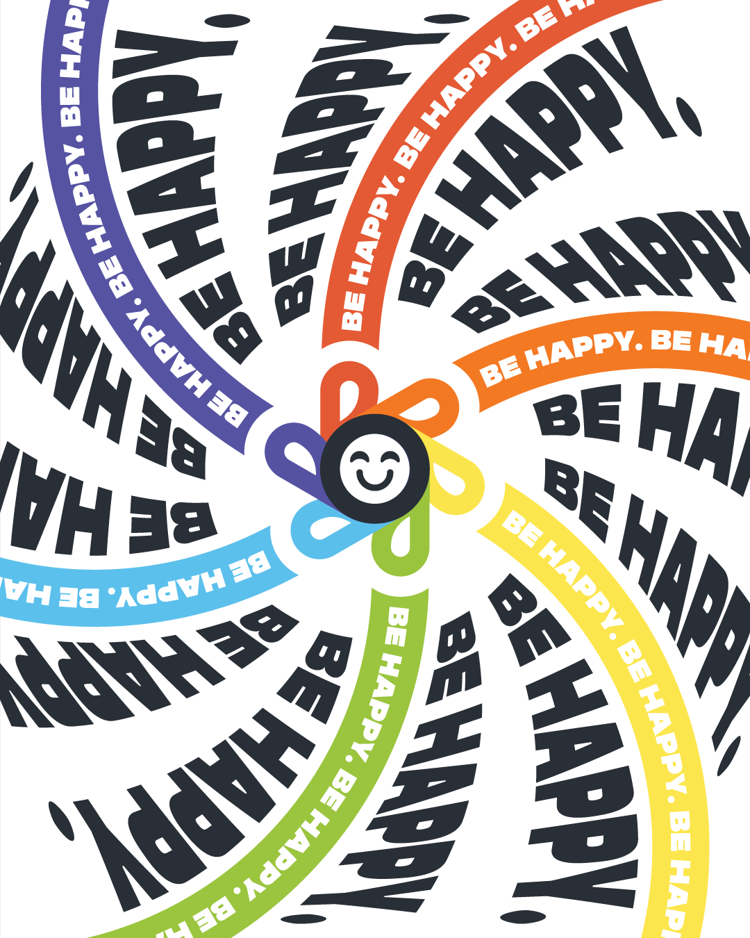 This was my first attempt at creating exciting advertising material for my business. I chose Be Happy because I believe it to be my best design so far and I wanted to experiment with text-wrapping in Adobe Illustrator. In fact, I enjoyed this design so much I ordered a print of it. (https://bybrice.com/products/be-happy)